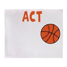 Practice Like a Champion, color b Throw Blanket
