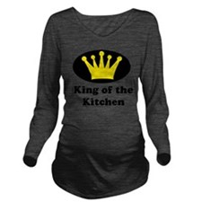 King of the kitchen  Long Sleeve Maternity T-Shirt