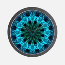 Blue Energy Wall Clock