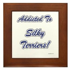Silky Addicted Framed Tile
