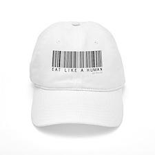 Eat Like a Human Baseball Cap