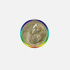 Hawaiian Sesquicentennial Half Dollar  Mini Button