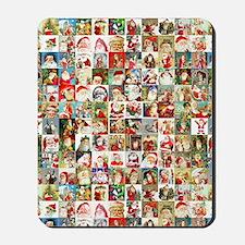 Many Many Santas Mousepad