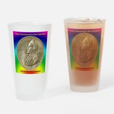 Hawaiian Sesquicentennial Half Doll Drinking Glass
