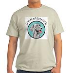 weimaraner circle portrait Light T-Shirt