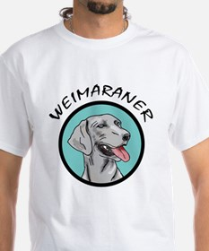 weimaraner circle portrait Shirt