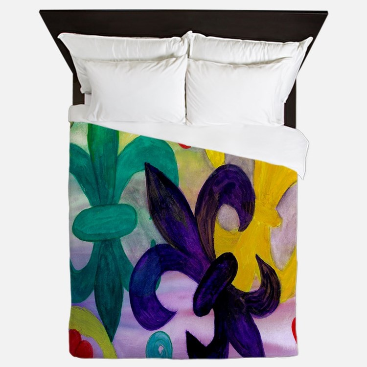 saints bedding - bedding queen