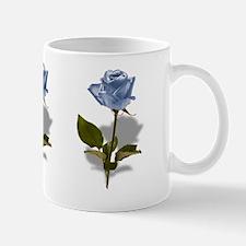 Three Blue Roses Mug