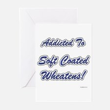 Wheaten Addicted Greeting Cards (Pk of 10)