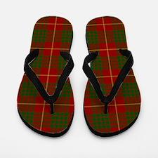 Cameron Modern Tartan Flip Flops