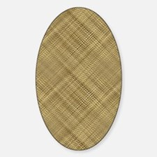 Light Basket Weave Decal