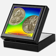 Hawaiian Sesquicentennial Half Dollar Keepsake Box