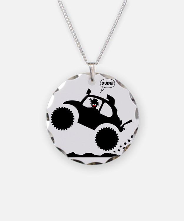 BAJA BUG WHEELIES black imag Necklace