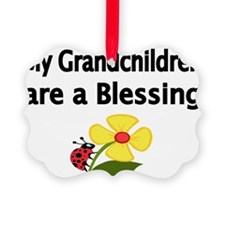 My Grandchildren are a Blessing Ornament