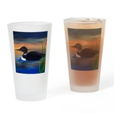 Loon Lake Drinking Glass