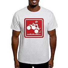 BAJA BUG WHEELIES sign T-Shirt