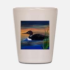 Loon Lake Shot Glass