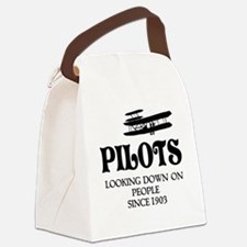 Pilots Canvas Lunch Bag