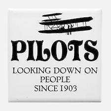Pilots Tile Coaster