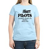 Funny pilot Women's Light T-Shirt