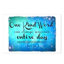 One Kind Word Postcards (Package of 8)