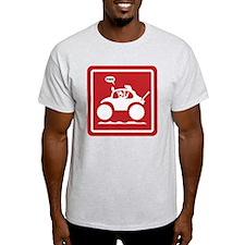 STICKMAN BAJA BUG Sign T-Shirt