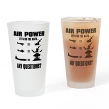 Air Power Drinking Glass