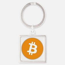 bitcoin Square Keychain