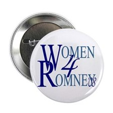 "Women For Romney 2.25"" Button (100 pack)"