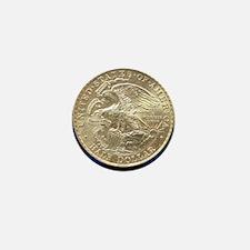 Illinois Centennial Half Dollar Coin  Mini Button
