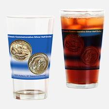 Hudson NY Sesquicentennial Half Dol Drinking Glass