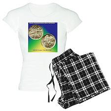Oregon Trail Half Dollar Co Pajamas