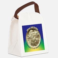Oregon Trail Half Dollar Coin  Canvas Lunch Bag