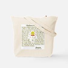 Grateful to be Catholic (Gold) Tote Bag