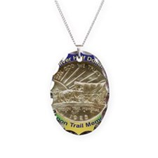 Oregon Trail Half Dollar Coin  Necklace