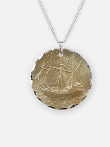 Pilgrim Tercentenary Half Do Necklace