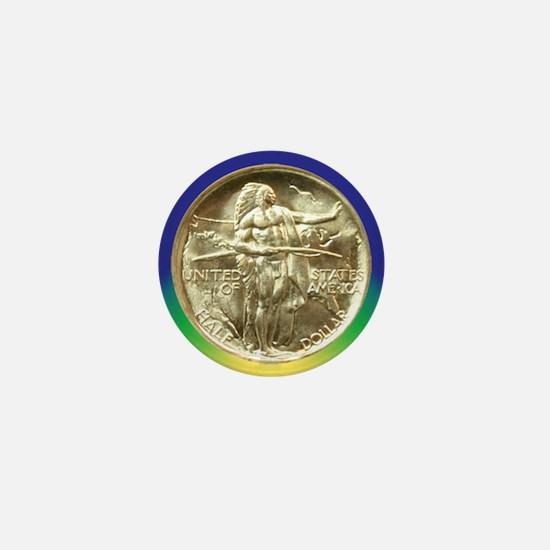 Oregon Trail Half Dollar Coin  Mini Button