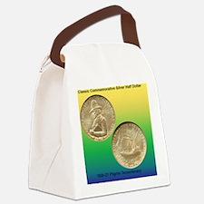 Pilgrim Tercentenary Half Dollar  Canvas Lunch Bag