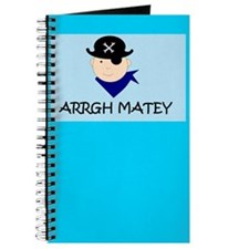 ARRGH MATEY PIRATE Journal