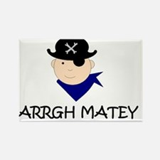 ARRGH MATEY PIRATE Rectangle Magnet