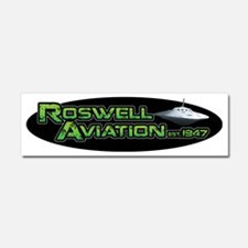 Roswell Aviation Car Magnet 10 x 3
