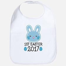 1st Easter 2017 Bunny Baby Bib