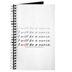 I Will Be a Nurse! Journal