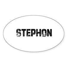 Stephon Oval Decal
