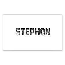 Stephon Rectangle Decal