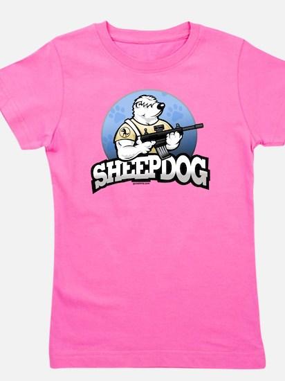 Sheepdog Design 1 Girl's Tee