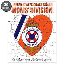 Moms Division / Dark Blu Puzzle