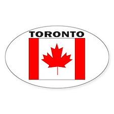 Toronto, Ontario Oval Decal