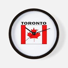 Toronto, Ontario Wall Clock