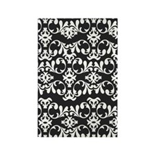 Simple Damask Rectangle Magnet